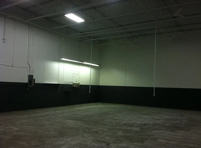 Warehouse Painting - Completed
